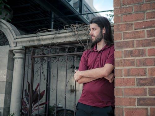 人, 城市, 有胡子的人, 鬍子 的 免费素材照片