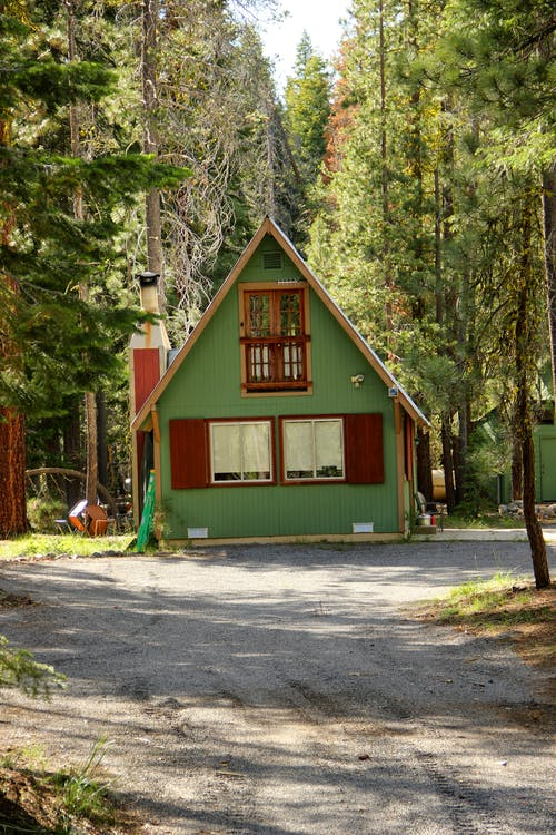 คลังภาพถ่ายฟรี ของ บ้านหลังเล็ก, ป่า