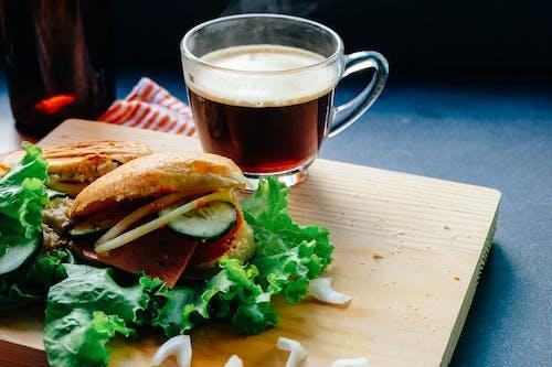 Darmowe zdjęcie z galerii z drink, jedzenie, kanapki, napój