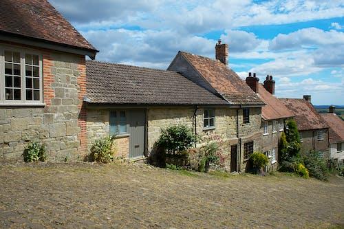 Immagine gratuita di città inglese, collina, cottage, gold hill