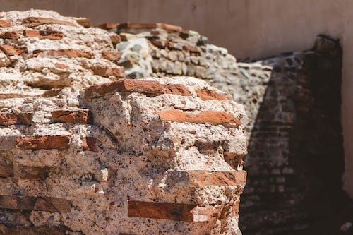 Foto stok gratis batu bata, bizantium, mortor, reruntuhan