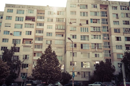Free stock photo of apartment, apartment building, tenement