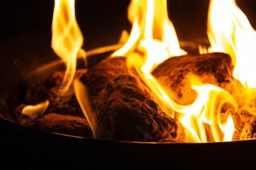 firebowl, 火, 熔岩岩石 的 免费素材照片