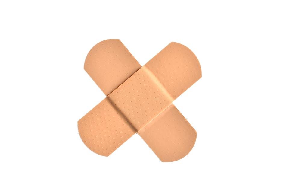 accident, band-aid, bandage