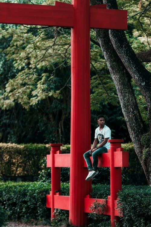 Ảnh lưu trữ miễn phí về buồn, màu xám, Trung Quốc, đàn ông một mình