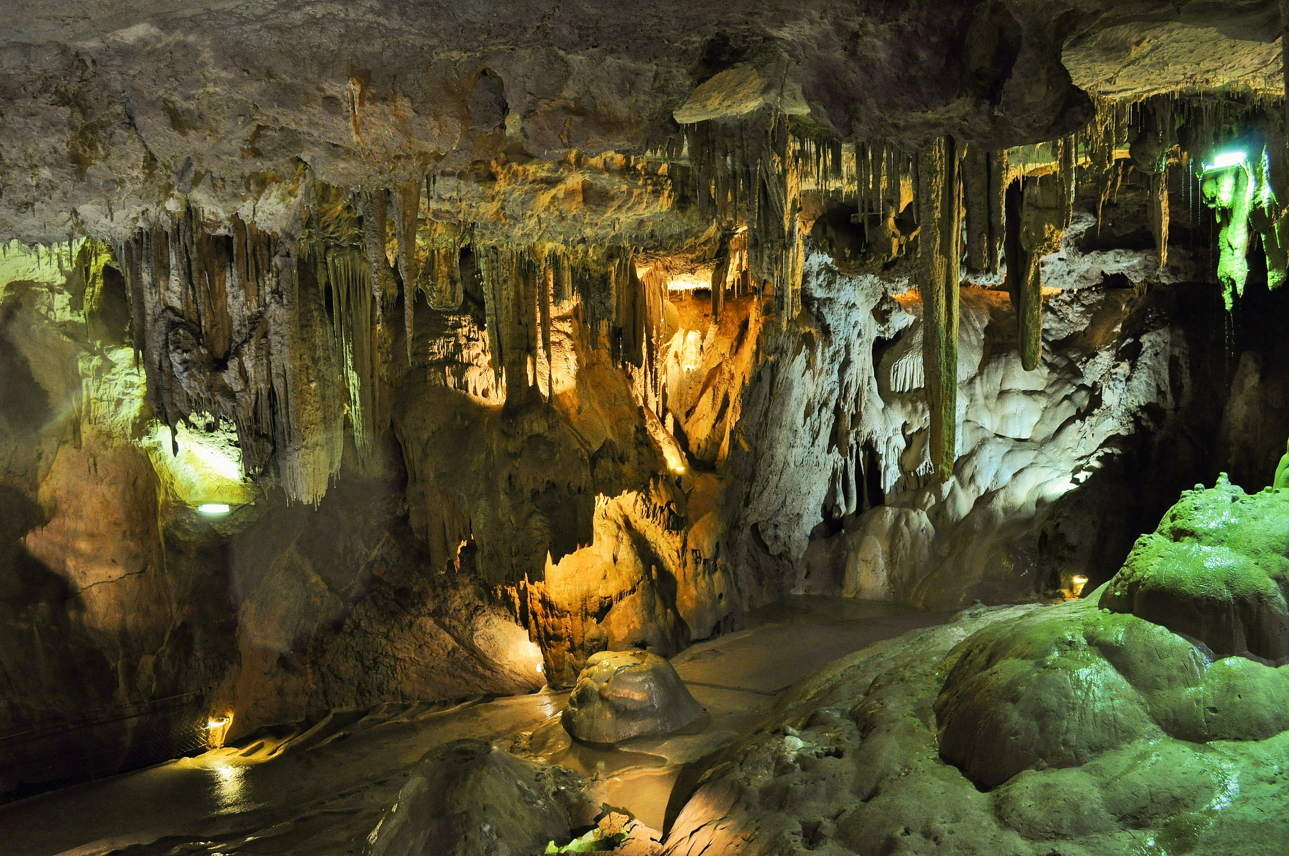 Interior Photography of Cave