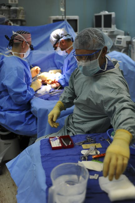adult, doctors, gloves