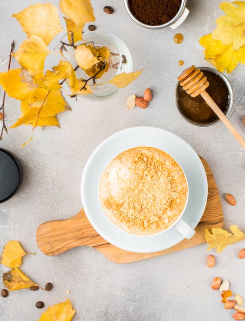 Foto stok gratis kafein, kopi, madu, minuman