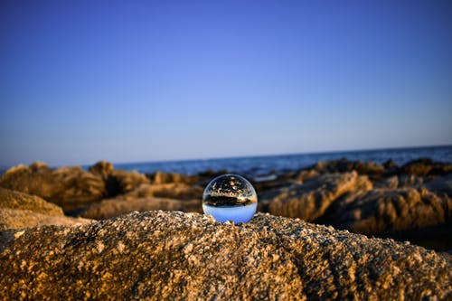 Free stock photo of beach, blue, blue sky, crystall ball