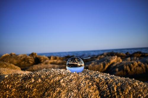 คลังภาพถ่ายฟรี ของ การถ่ายภาพ lensball, ชายหาด, ท้องฟ้าสีคราม, ทะเล