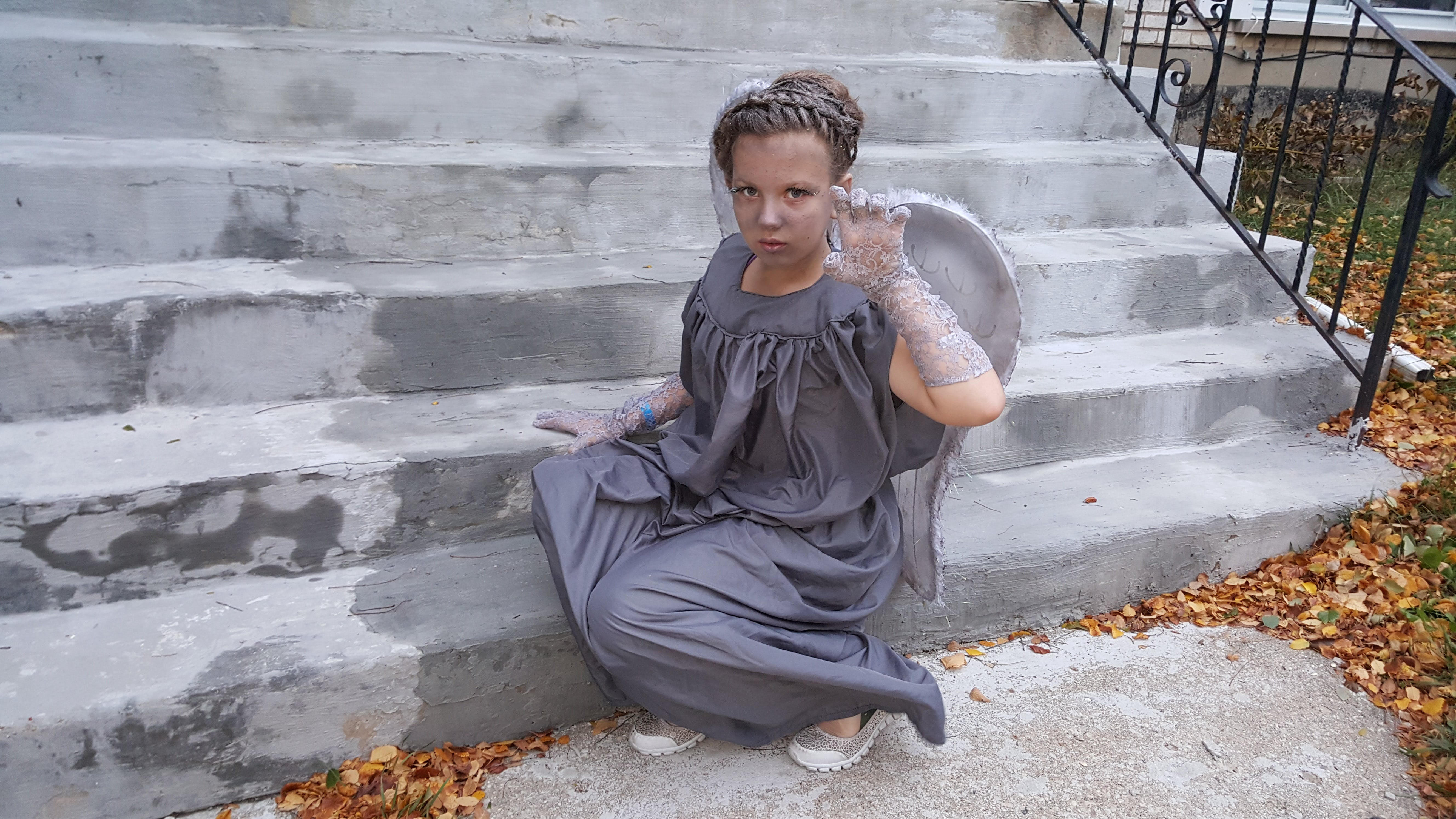 Free stock photo of grey, costume, doctor who, crying angel