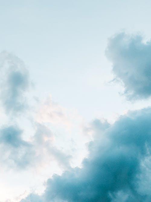 Foto stok gratis biru, langit biru, langit kota