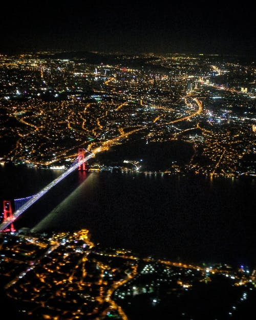 Imagine de stoc gratuită din Istanbul, istanbul de sus, localitate, vedere 360