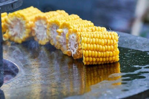 Foto profissional grátis de alimento, amarelo, cereais, delicioso