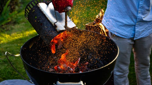 Free stock photo of bbq, coal, fire, party