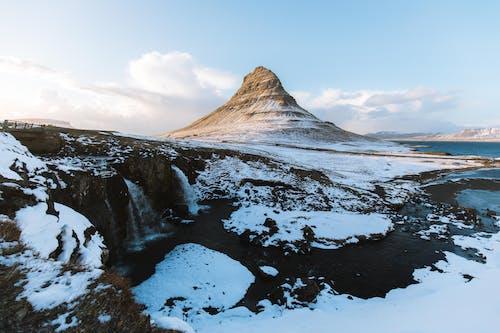 kirkjufell, アイスランド, コールド, ヨーロッパの無料の写真素材