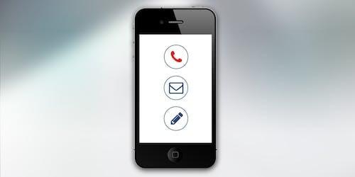 Бесплатное стоковое фото с iphone, беспроводной, интернет, касаться
