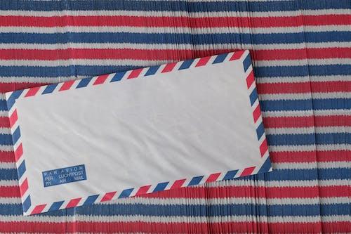 Бесплатное стоковое фото с авиапочта, конверт, конверты