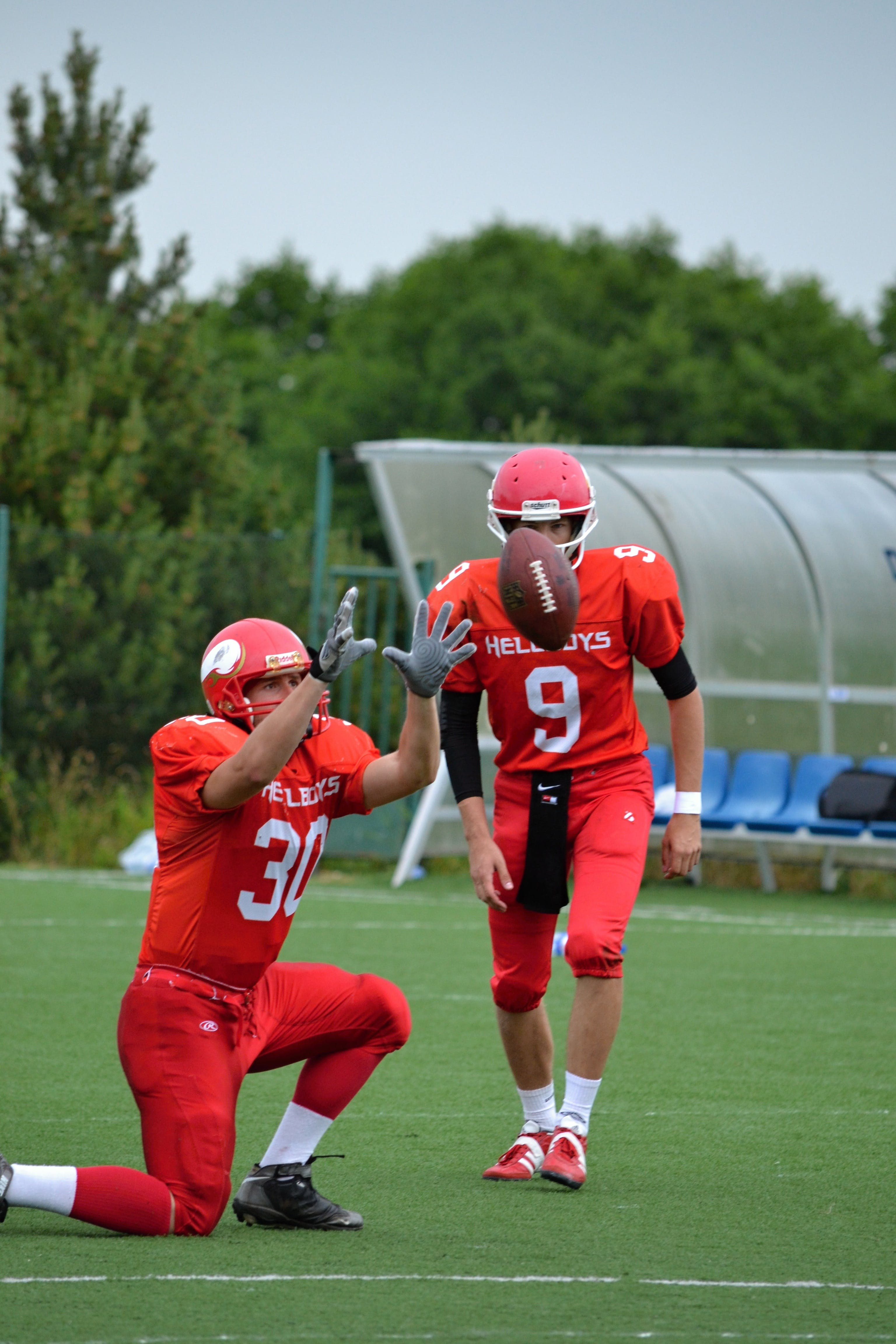 Free stock photo of American football, contact game, cooperation, determination