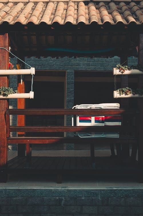 Foto stok gratis Arsitektur, asli, bangku, bangunan