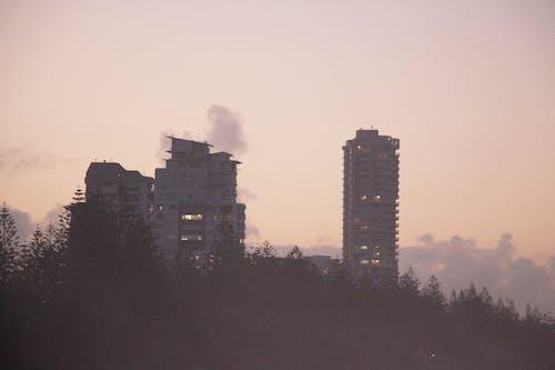Základová fotografie zdarma na téma budova, fikce, pláž při západu slunce, západ slunce