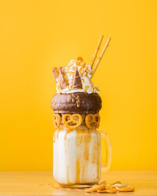 bardak, buzlu, cam içeren Ücretsiz stok fotoğraf