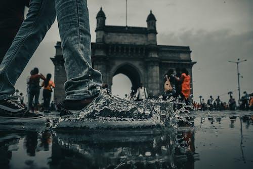 Foto profissional grátis de #desafiodemobilidade, #mumbai, #mumbaiindians, borrifando