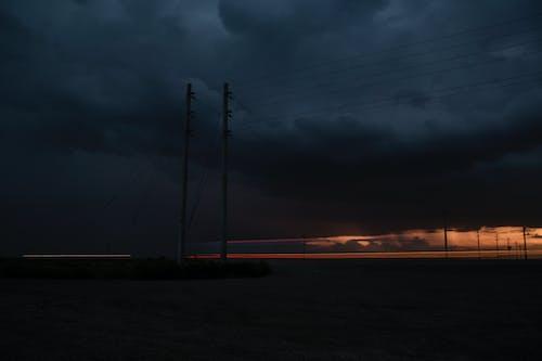 Безкоштовне стокове фото на тему «Блискавка, Буря, грім, дорога»