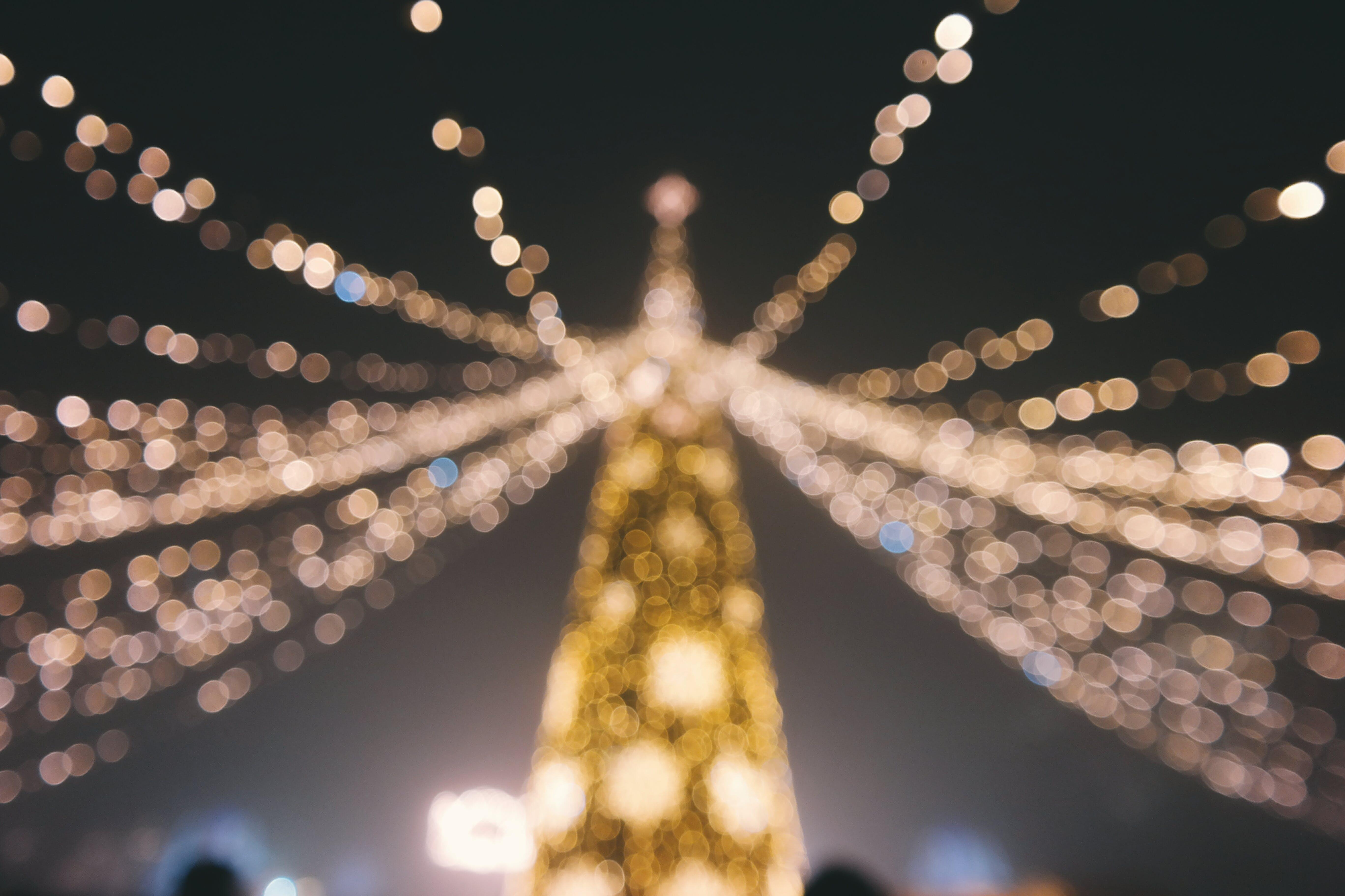 Free stock photo of bokeh, christmas, christmas card, christmas time