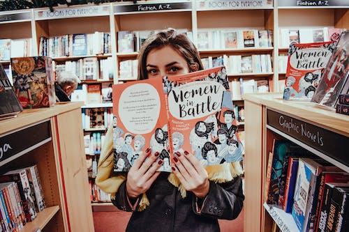 Imagine de stoc gratuită din brunetă, carte, cărți, european