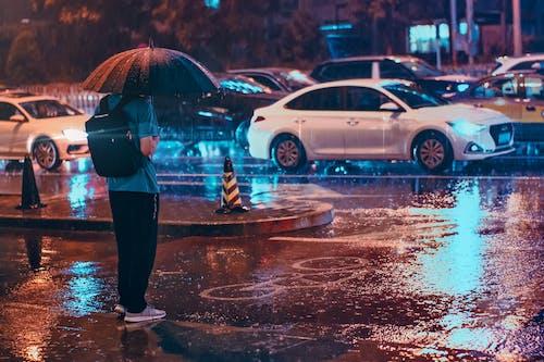 Imagine de stoc gratuită din 下雨, 人文, 北京, 夜景