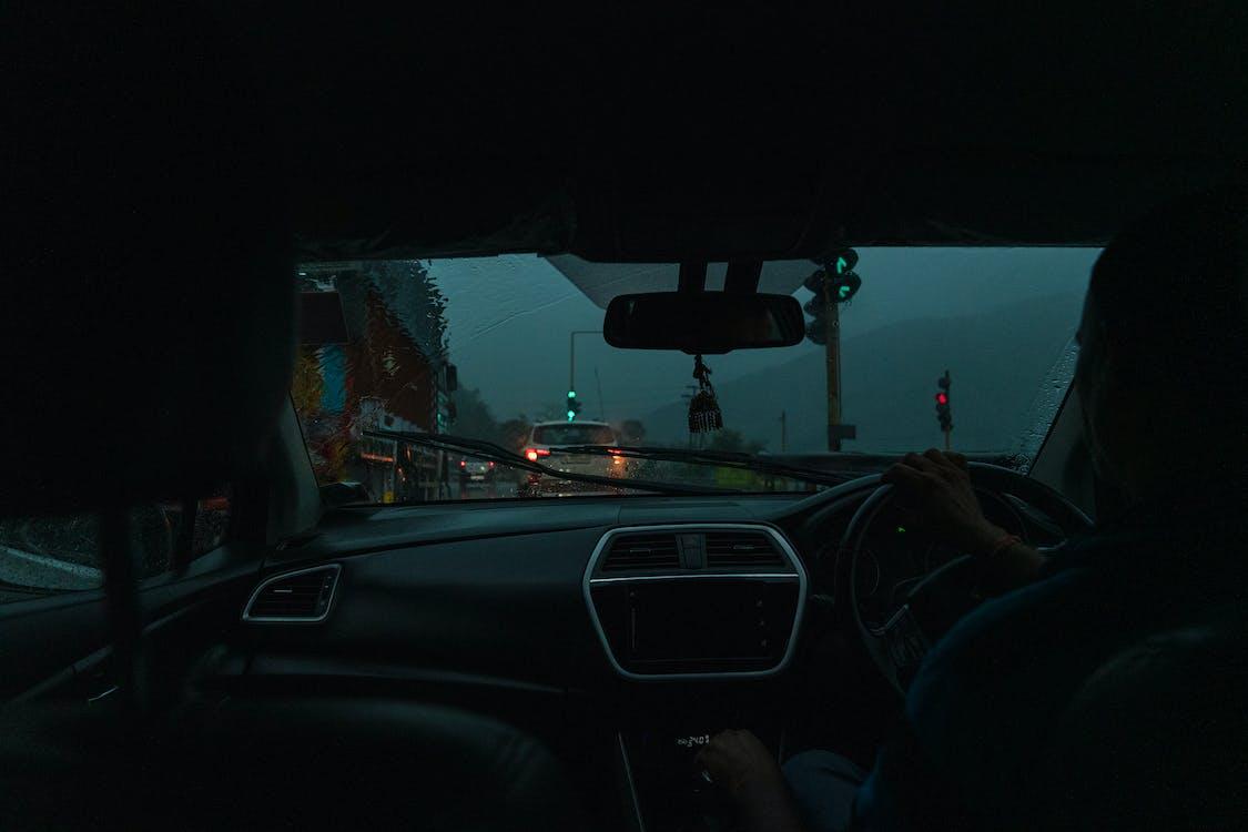 car, drive, mountains