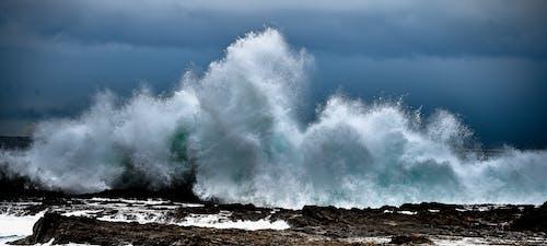 Foto profissional grátis de espuma, mar, oceano, ondas
