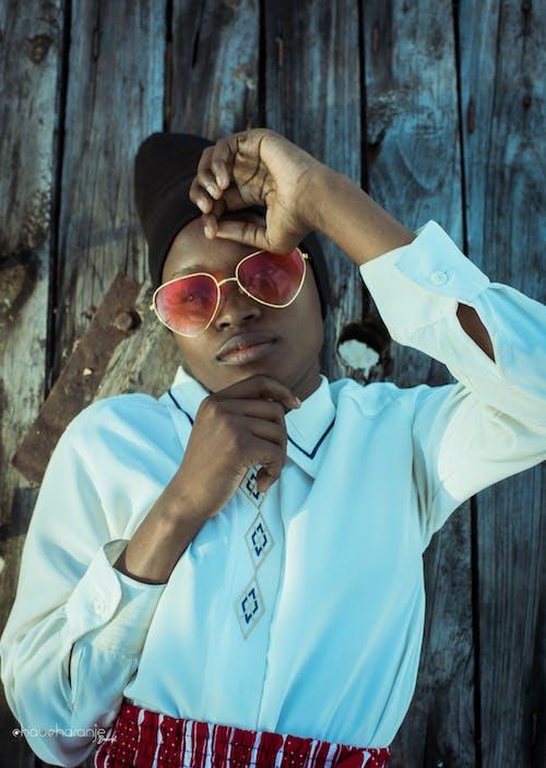 Δωρεάν στοκ φωτογραφιών με chaucharanje μάρκα, γλυκός, γυαλιά, κορίτσι από την αφρική