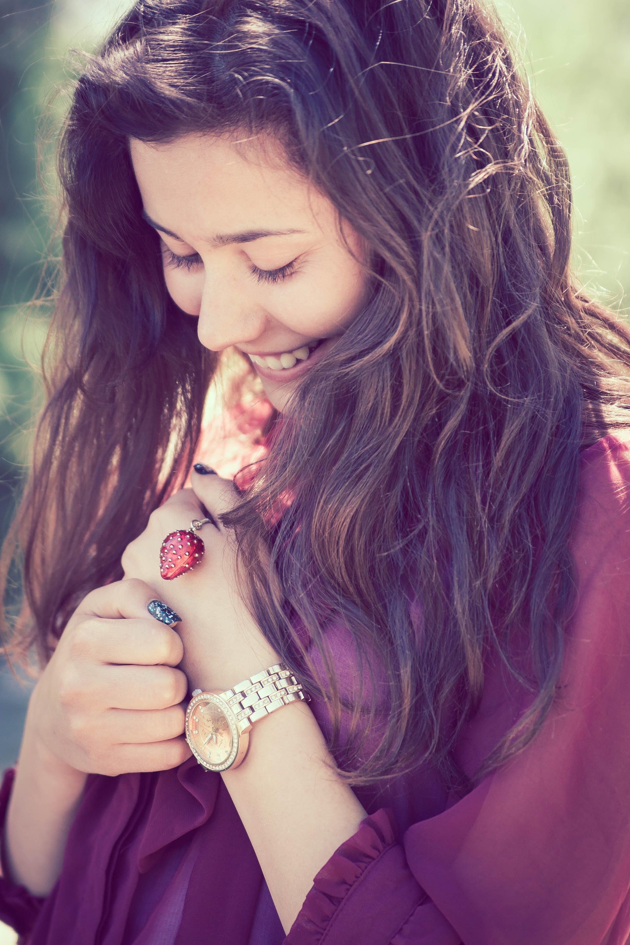 attractive, beautiful, brunette