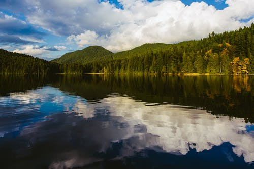 冷靜, 反射, 和平的, 平靜的水面 的 免費圖庫相片