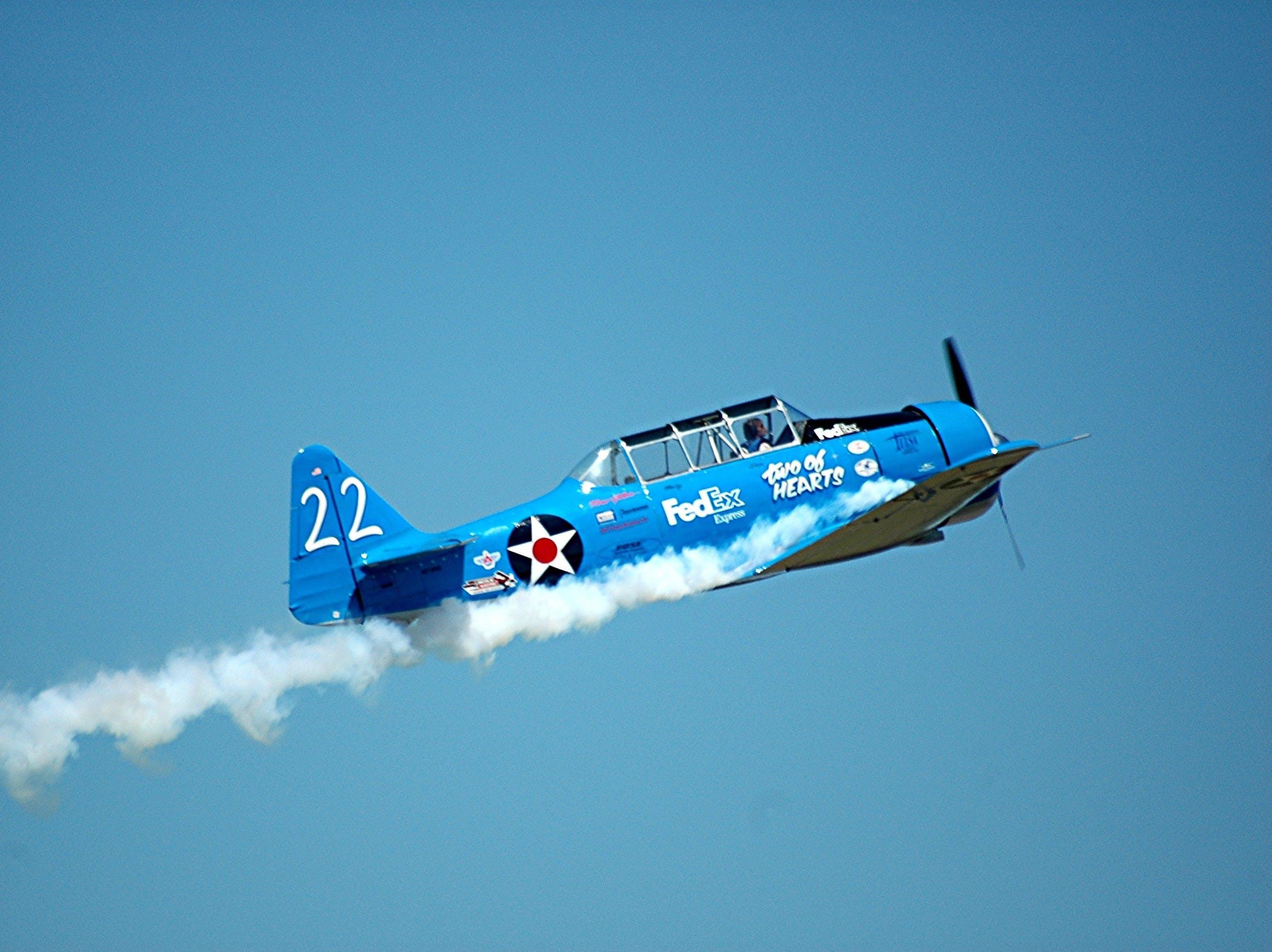 Free stock photo of flight, sky, blue, event