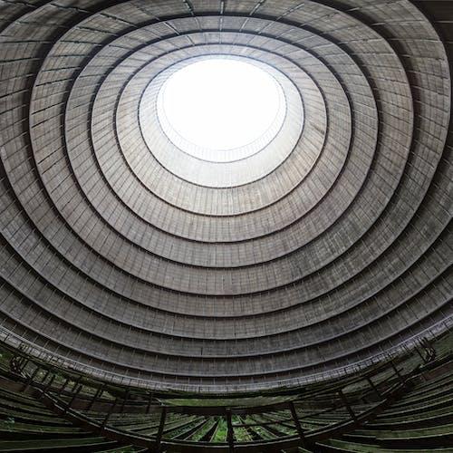açık, bakış açısı, bina, dairesel içeren Ücretsiz stok fotoğraf