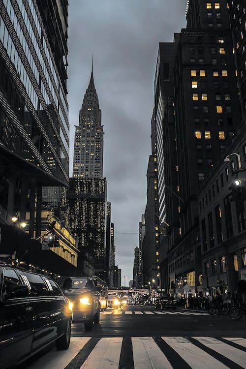Free stock photo of america, american, architecture, big apple