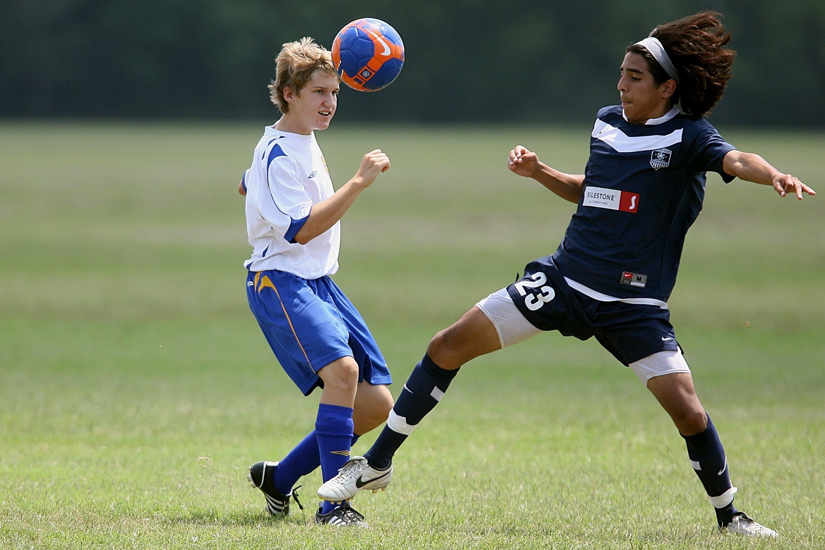 Kostenloses Stock Foto zu action, aktiv, athleten, ball