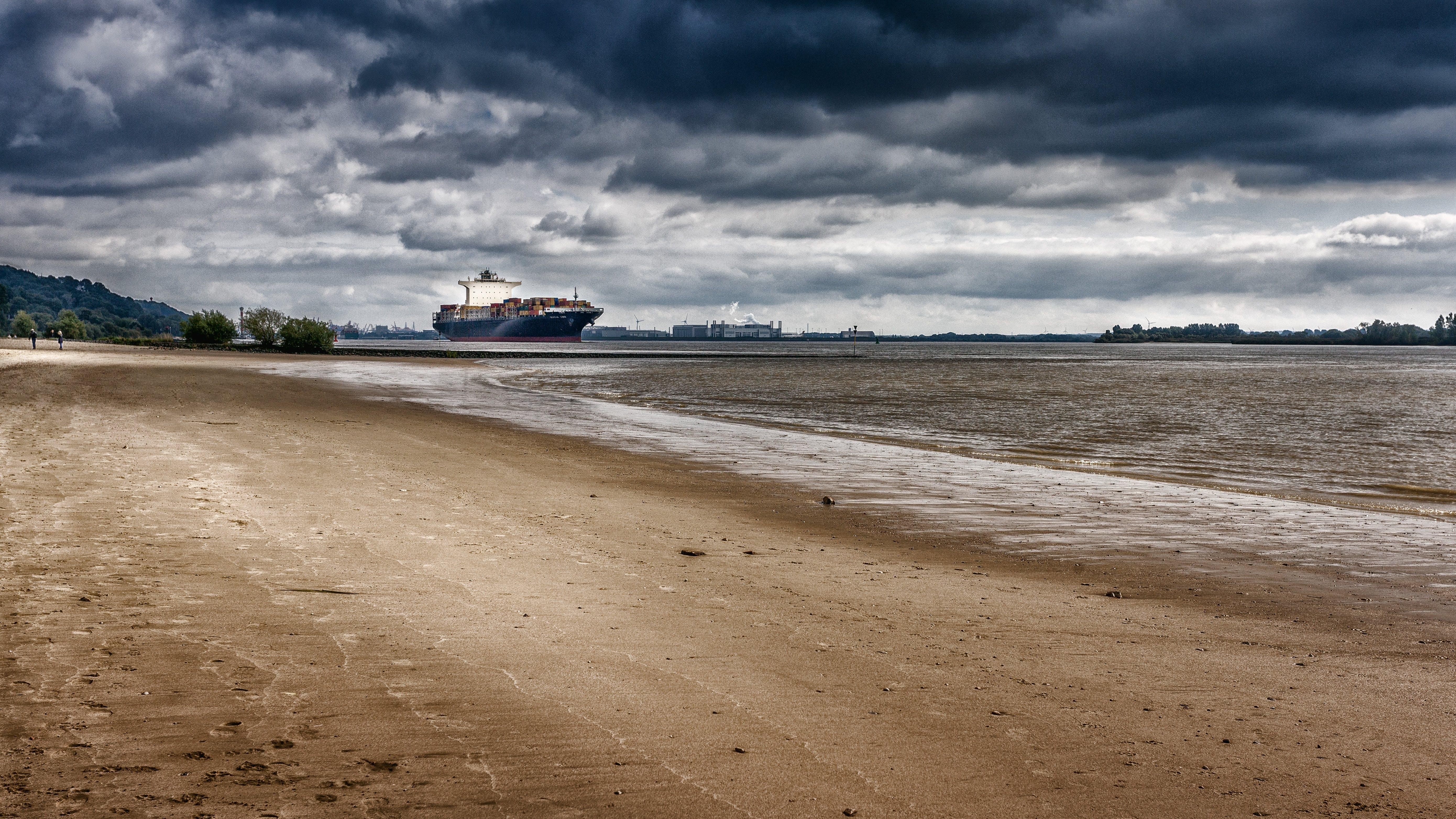Free stock photo of city, beach, landmark, water