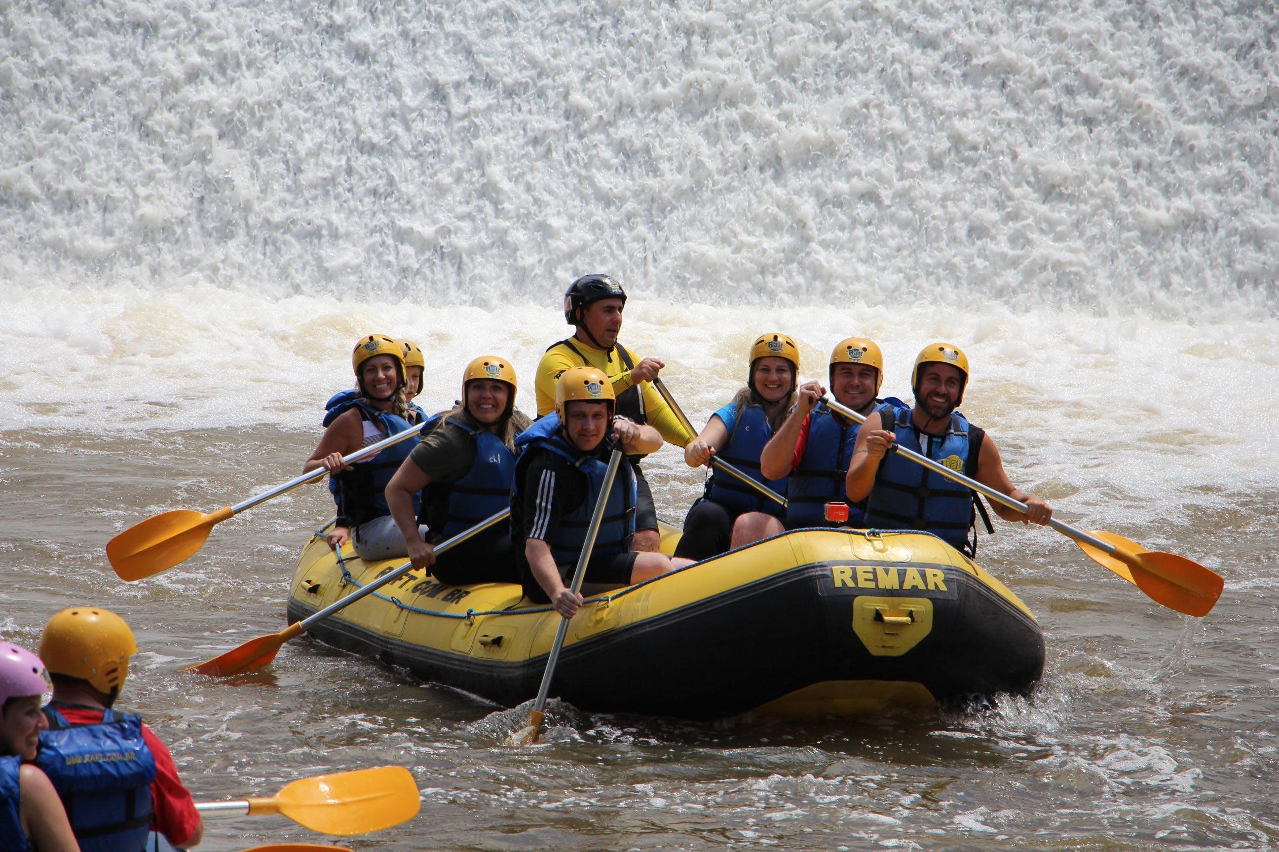Free stock photo of boat, team, rafting, paddling
