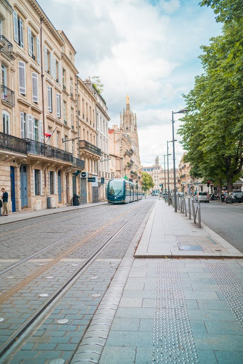 Free stock photo of blue, bordeaux, city, city life