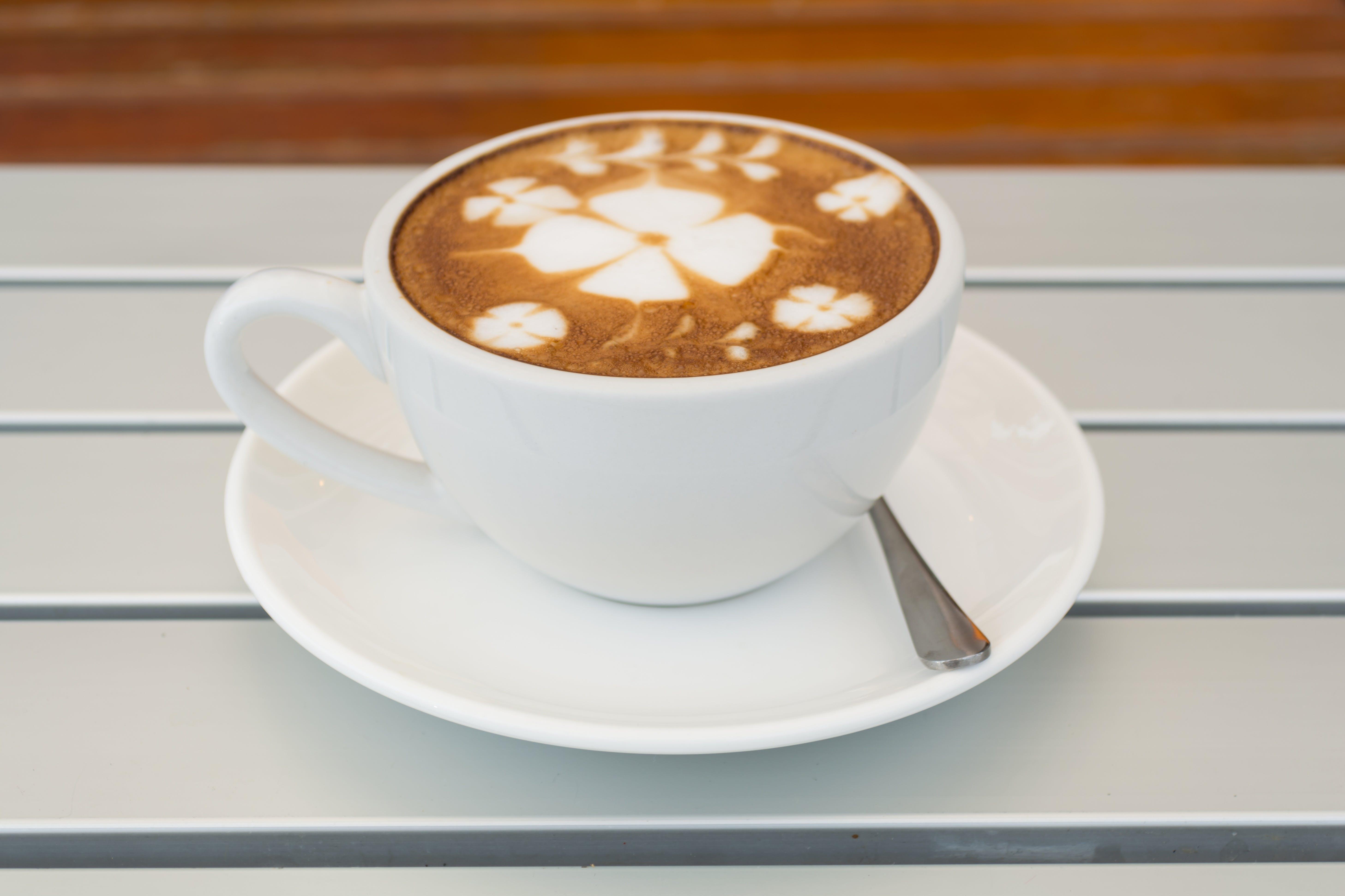 boble, cappuccino, dekorer