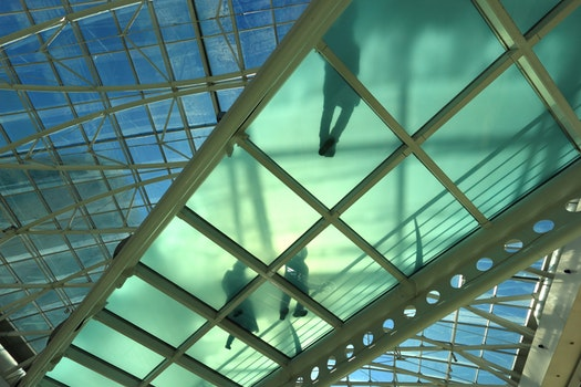 Free stock photo of walking, bridge, glass, roof