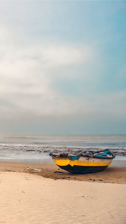 Základová fotografie zdarma na téma 4k tapeta, Baltské moře, barevná tapeta, člun