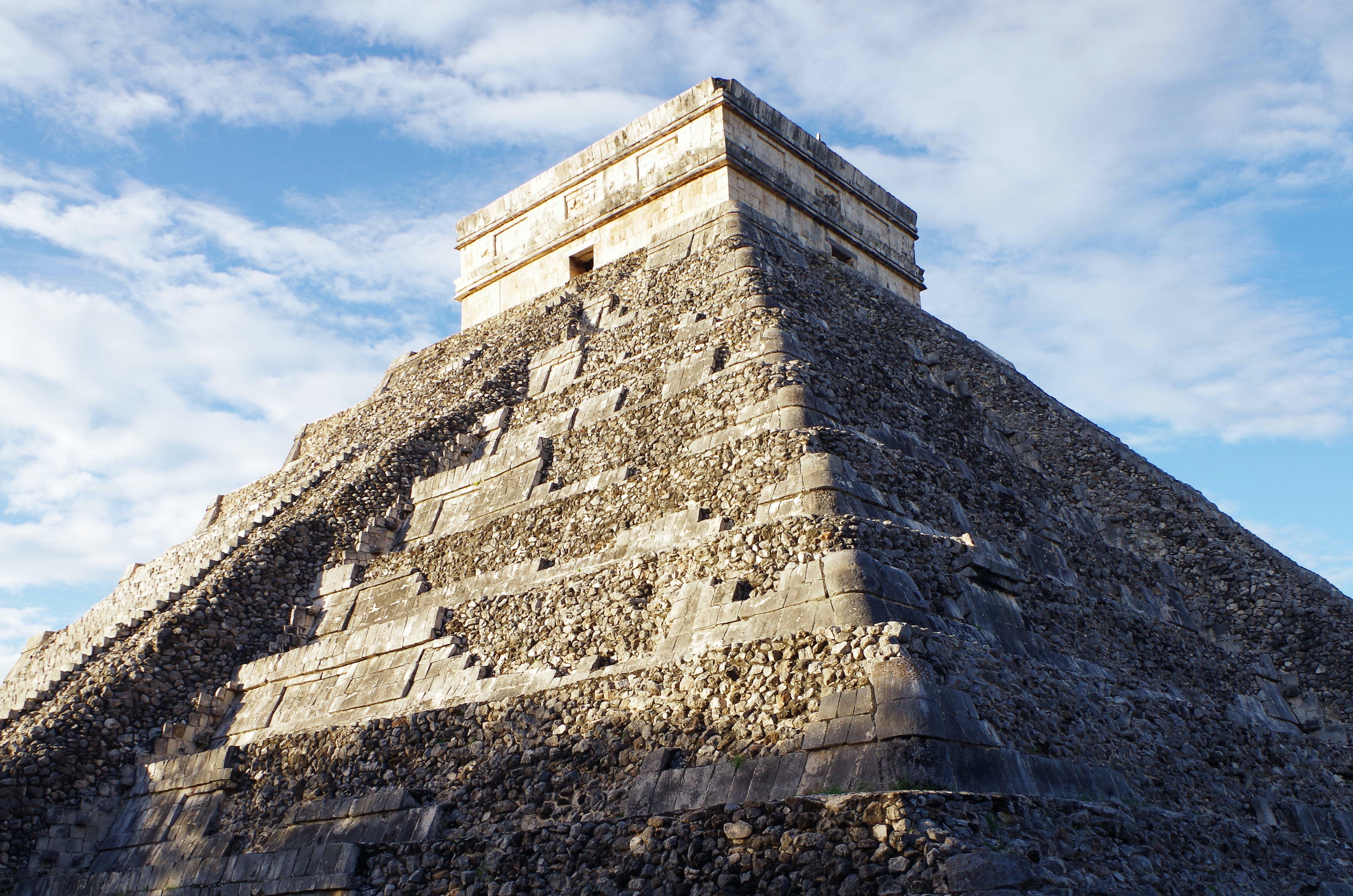 chichã©nitzã¡, 古老的, 埃尔卡斯蒂略, 墨西哥 的 免费素材照片