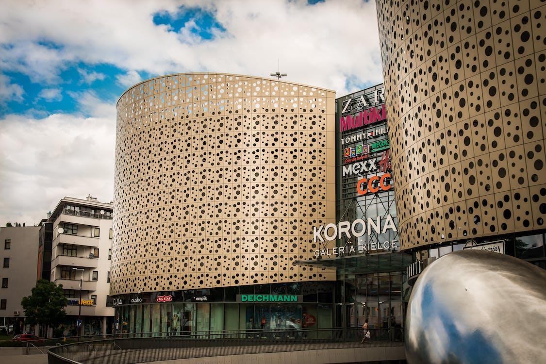 arquitectura, Centre comercial, centre de la ciutat