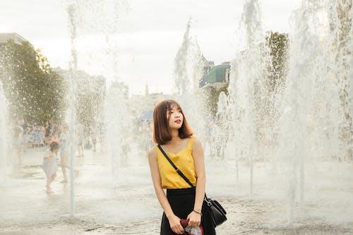 H2O, 가방, 귀여운 소녀, 귀여운 여자의 무료 스톡 사진