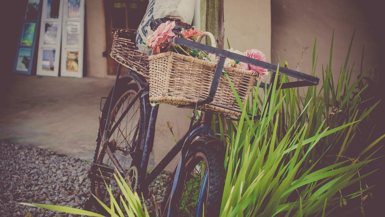 カート, シート, ビンテージ自転車